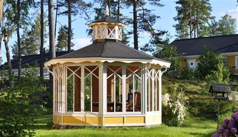 garten pavillons scandinavian garden pavilions made in sweden