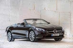 Convertible Mercedes 2017 Mercedes S Class Cabriolet Drive Review