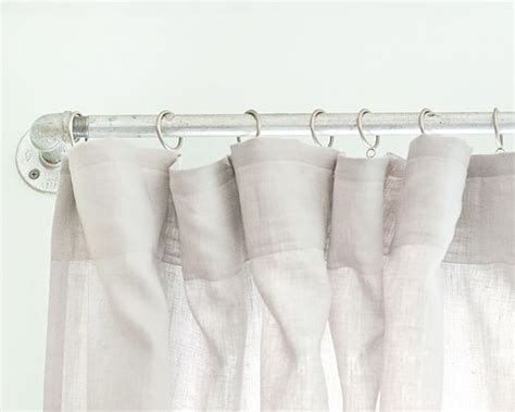 curtains pipe diy curtain quot pipes quot for less than 30 via yellow brick
