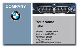 Bmw Card Bmw Business Cards