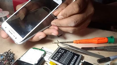 Handphone Samsung Buka Tutup cara buka touchscreen lcd samsung j5