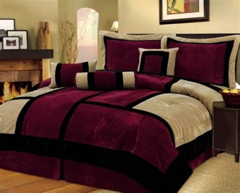 black white and maroon bedrooms google image result for http www shelterness com