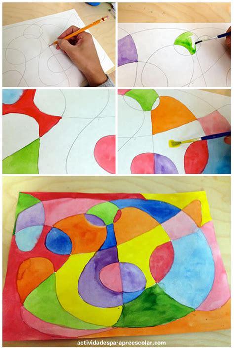 imagenes de artes visuales faciles c 243 mo crear mi primera obra de arte abstracta