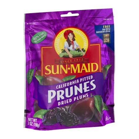 Sun Dried Pitted Prunes 130g sun california dried plums pitted prunes