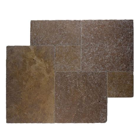 noce 12x12 tumbled travertine pavers tile