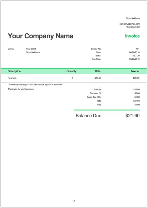 how to make an invoice with sle invoices wikihow