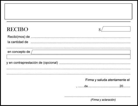 cmo puedo imprimir un recibo de pago en la plataforma del c 243 mo hacer un recibo de dinero ejemplos uncomo