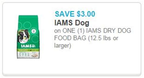 dog food coupons january 2015 3 1 iams dry dog food coupon walmart and meijer deals