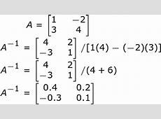 Inverse Berechnen 2x2. matrix und inverse matrix berechnen ... C- 4x4 Matrix Inverse