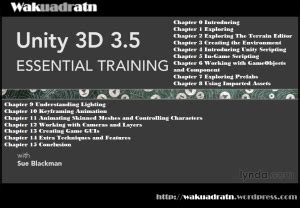 unity tutorial written unity 3d video tutorial wakuadratn