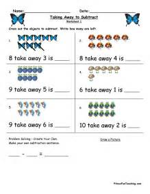 free subtraction worksheets have fun teaching