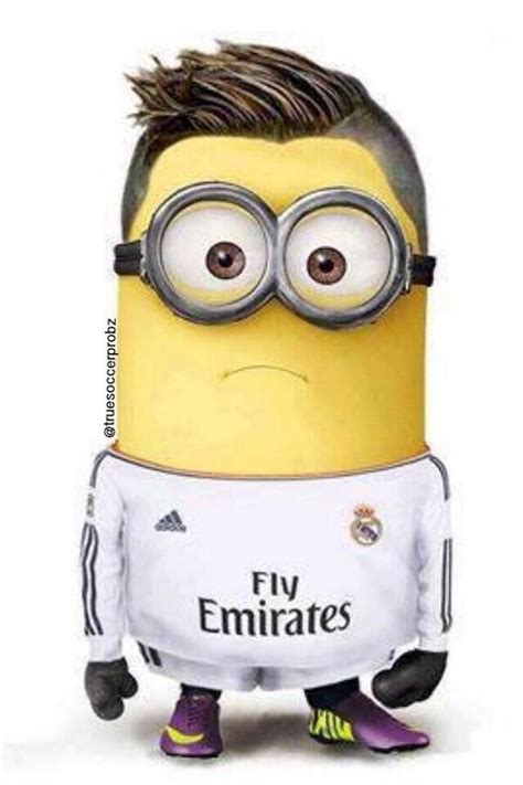 Imagenes De Real Madrid Minions | 13 minion footballers balls ie