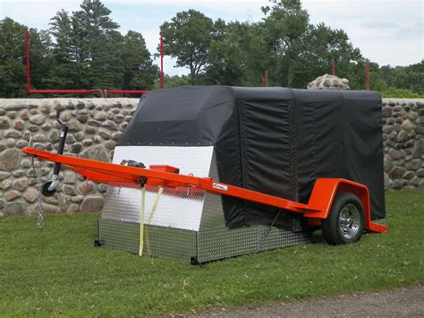 The Bed Trailer by Enclosed Dual Purpose R Less R Free Drop Bed