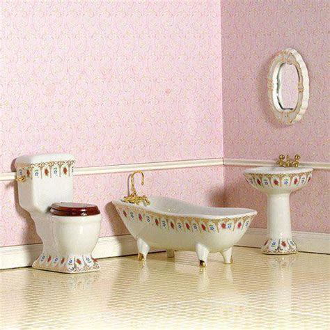 dolls house bathrooms the dolls house emporium luxury victorian bathroom 4 pcs