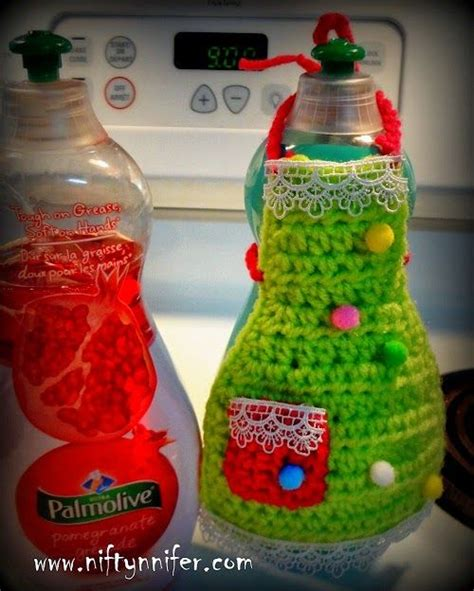 apron pattern for soap bottles dish soap apron free crochet pattern by niftynnifer pdf