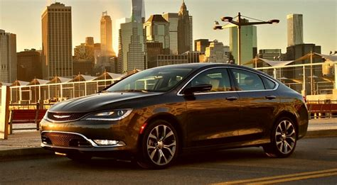 The New 2015 Chrysler 200 by All New 2015 Chrysler 200 On The Road With America S