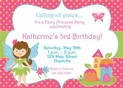 birthday invitations princess birthday invitation by thebutterflypress