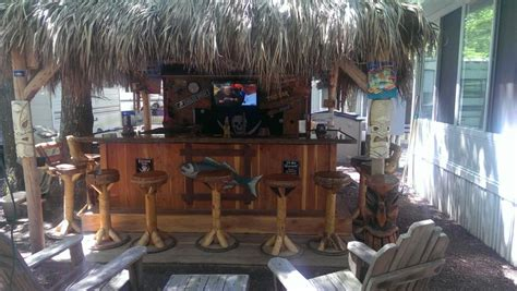 Tiki Bar Top by This Is Tiki Bar In City Nj 11x11 Tiki Hut 10x7