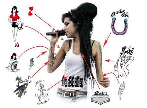 amy winehouse diy costume amp tattoo meanings yummyholic
