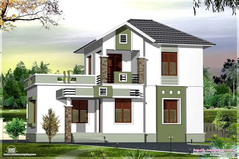 home building designs two story house plans balconies sri lanka home building