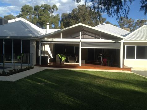 Hip Style Roof Design Gable Roof Patios 183 Aussie Style Patios 183 Perth Patios