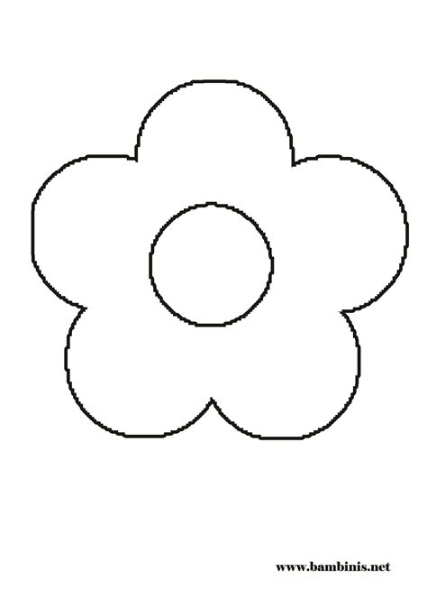 coloring pictures of flowers for preschoolers coloring pages