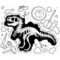 fossil 187 coloring pages 187 surfnetkids
