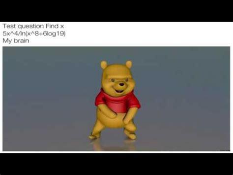 Winnie The Pooh Meme - winnie the pooh pitbull meme dance youtube