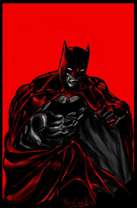 batman red light  papabear  deviantart
