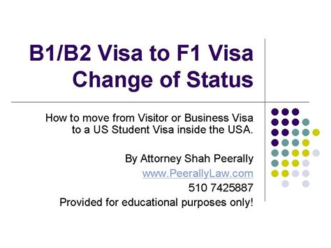 B1 Visa Letter From Employer changing status from b1 b2 to f1 visa visitor visa to