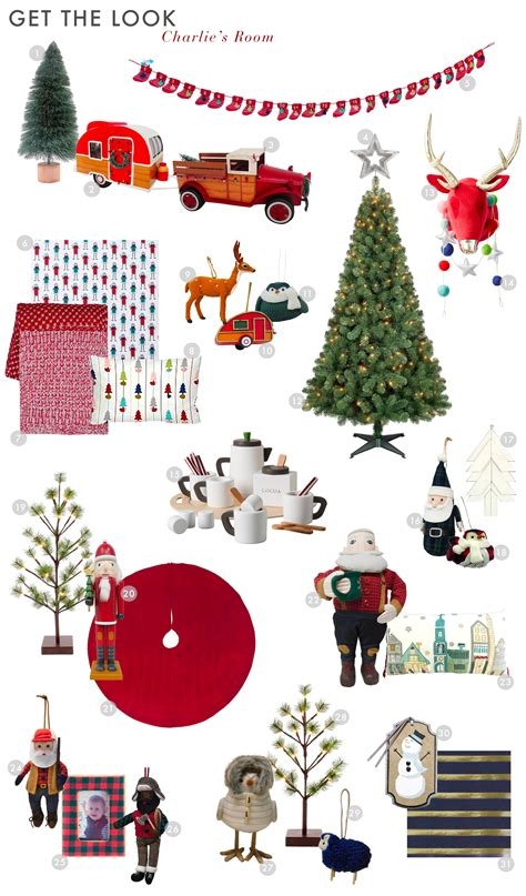 get decorative this christmas mozaico blog charlie s room decked for the holidays emily henderson