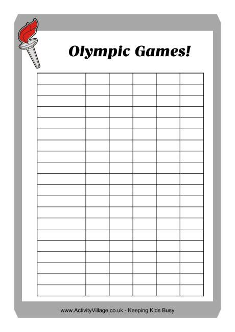 gymnastics score card template best photos of printable score sheets printable
