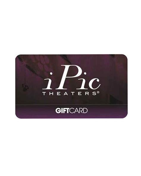 Ipic Theater Gift Card - impressive holiday gifts