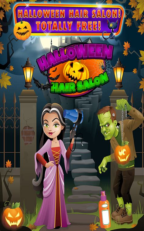 halloween haircut games amazoncom halloween hair salon kids barbershop hair cut