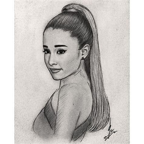 sketch and draw arianagrande draw grande artist on instagram