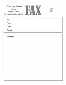 fax template in word fax cover letter doc my document