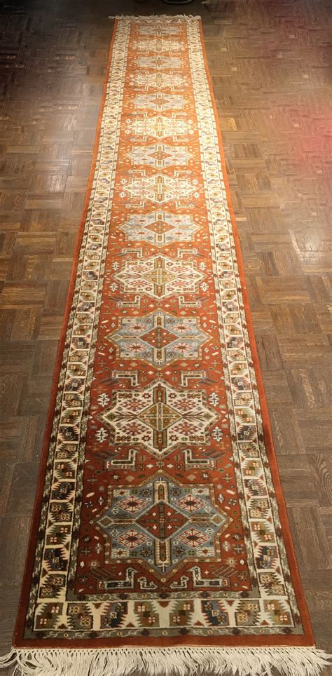 rug runners 2 x 14 antique bukhara runner 2 1 ft x 14 5 ft