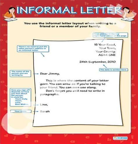informal letter format informal letter writing writing skills 1752