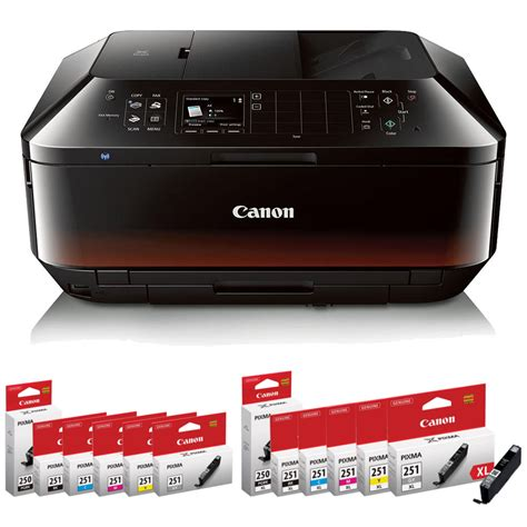 Canon Pixma Mx922 Wireless Office All In One Printer Review by Printer Ink Toner Hdmi Cables 123inkcartridges