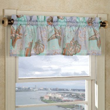 seashell bathroom window curtains 17 best images about kitchen curtains on pinterest