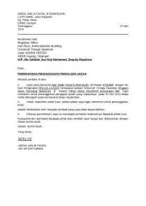 contoh surat penangguhan pengajian documents tips