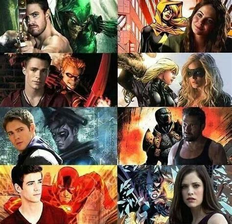 4all Series Green arrow okay we seen all characters here with their quot quot or quot villain quot id i in