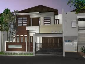 desain rumah minimalis modern 1 dan 2 lantai 2017 lensarumah