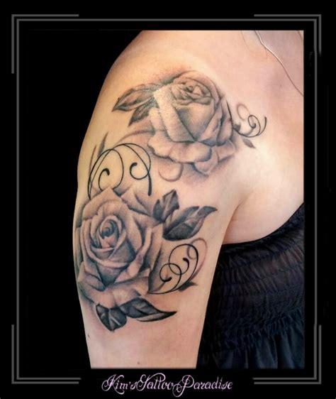 tattoo arm vrouw sleeve pin bloem roos tattoos on pinterest