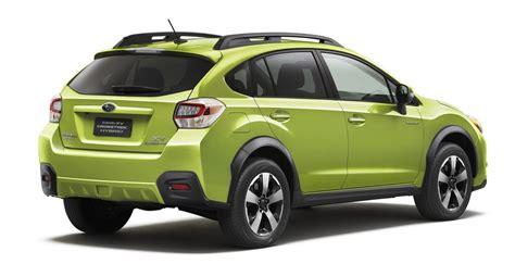 subaru hybrid sedan subaru hybrid fuel efficient compact crossover
