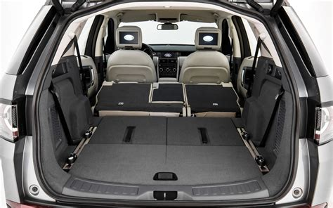 land rover discovery sport trunk space modular cargo space picture gallery photo 21 44 the
