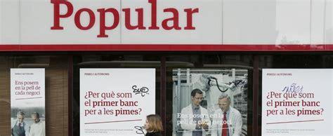 banco popular barcelona la ocu se querella contra la antigua c 250 pula de popular en