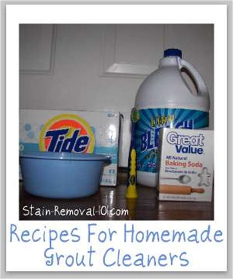 Grout Cleaner Recipe Grout Cleaners Recipes