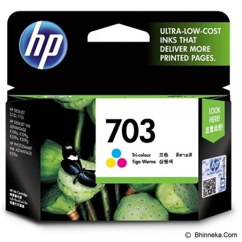 Tinta Printer Hp K209 jual hp tri color ink cartridge 703 cd888aa murah bhinneka