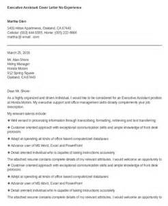 Cover Letters For Executive Assistants by Executive Assistant Cover Letter 11 Free Word Documents